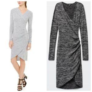Aritzia Wilfred Free Klum dress black grey medium
